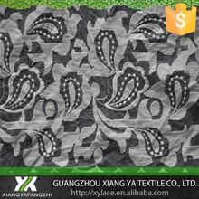87024 algodão bordado chenical fabricantes guipure fornecedor organza net tecido de malha de renda modelos blusas com rendas