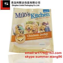 stand up plastic dry dog food bag