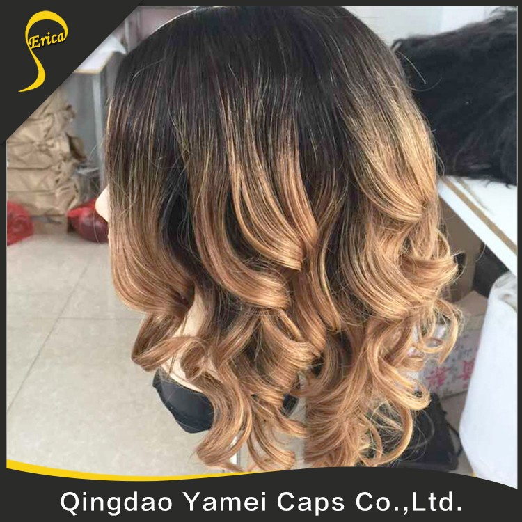 high quality full lace human hair wig for black woman (4).jpg