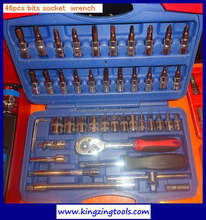 Tubular socket wrench sets 52 pcs in one set hand tool set