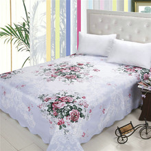 Cotton polyester bedding chinese fabrics traditional print