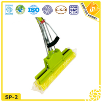 Window quick easy squeeze cleaner Scrubber Roller PVA sponge mop
