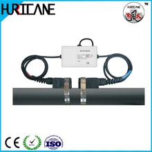 Plastic pipe digital water flow meter for liquid control