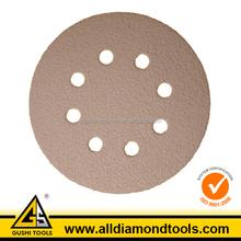 Round Abrasive Velcro Sanding Sheet for Metal Wood