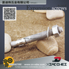 hollow wall anchor with hook stainless steel 304 a complete set wedge anchor double loop with ring