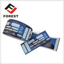 2015 anti-fake coupon ticket printing printing anti-fake voucher