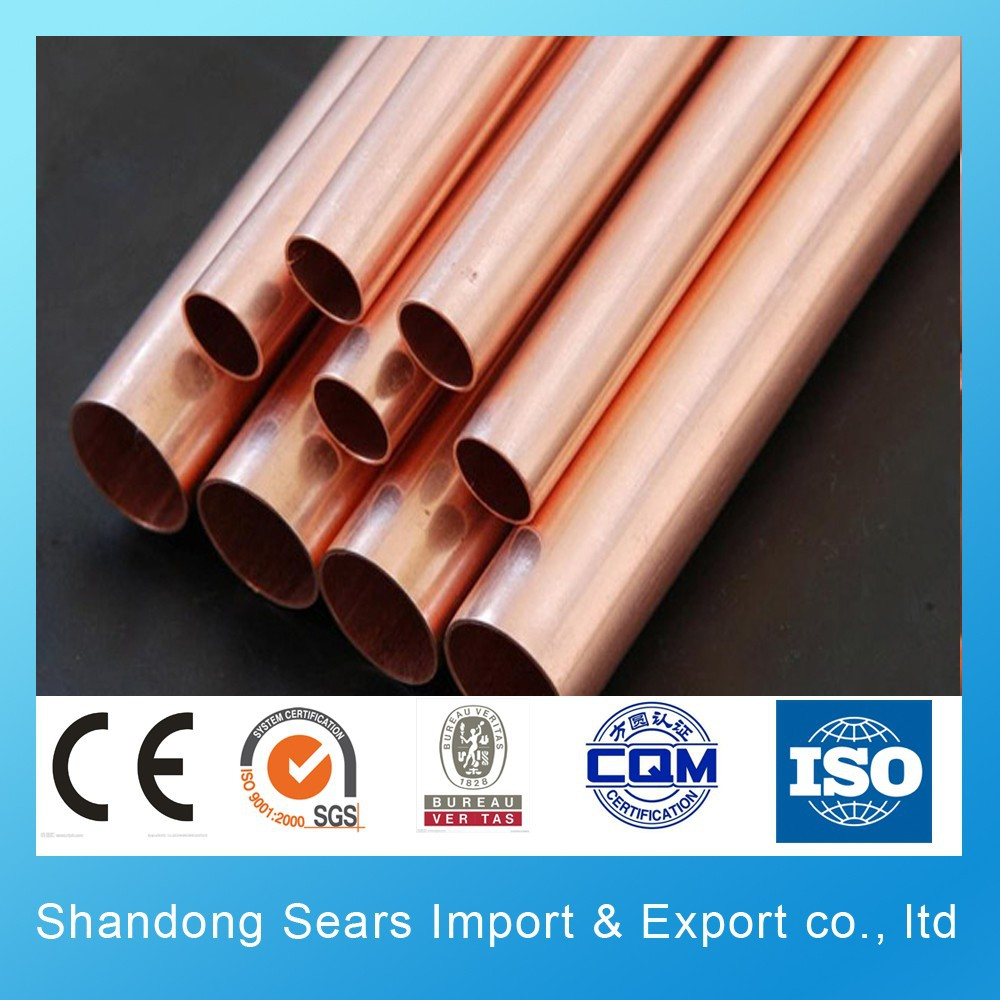 Copper pipe price meter and copper pipe for air for Copper pipe cost