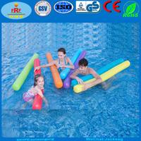 Inflatable swim noodles, Inflatable noodle float