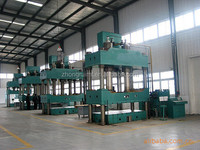 Adjustable working pressure and stroke 160 ton hydraulic press 4 column type