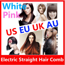 factory price DHL Free 20pcs/lot Brand New LCD Hair Straightener Straight Hair Styling Tool Home Electric AUTO Straight Hair Com