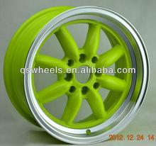 for sale 15 inch color car wheel replica watenabe banana deep dish alloy wheel rim
