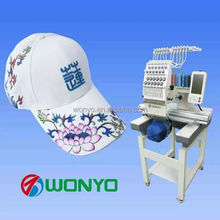 computer embroidery machine price for WY1501CS suitable for flat/caps/t-shirt embroidery