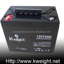 VRLA 12V75ah solar energy storage battery