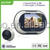 2015 ACTOP hot sell 3.5 inch screen motion detection peephole camera with high distinguish functon