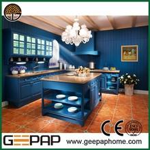 hot selling Kitchen Cabinet, zhejiang wood interior pvc door