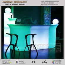 bar led with battery / lighted bar counter top