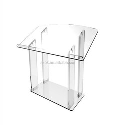 fashion modeling four clear table legs acrylic coffee table