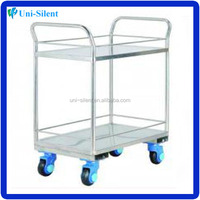 Utility Stainless Steel Platform Hand Trolley
