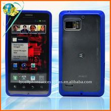 New arrival Combo cell phone cover for Motorola Droid Bionic XT875