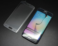 2015 New product Full Coverage Curved Edge toughened glass screen protector for samsung galaxy s6 edge screen film