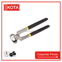 Carpent Pincer with PVC handle