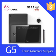 "UGEE G5 USB OEM tablet 9"" interface graphic tablet"