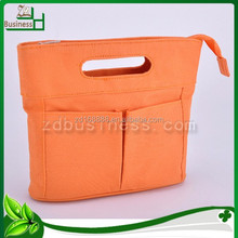 polyester plain mens travel cosmetic bag