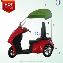 Chinese cheap 3 wheel electric mobility scooter motorcycle