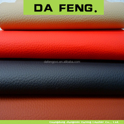 European Best Selling Luxury Low price fire resistance car wrap vinyl leather leather upholstery car