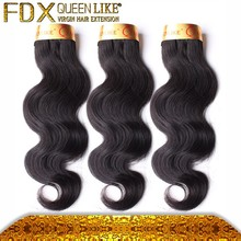 6a top quality Color 1B virgin remy hair extensions indian hair wholesale