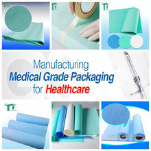 Disposable Medical Crepe Paper Sterilization Wraps