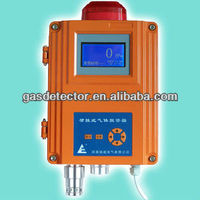 wall-mounted fixed LCD Toxic Gas Chlorine Detector Alarm