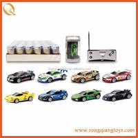 1:58 Mini Coke Can 4CH RC Radio Remote Control Car Micro Racing Car Kids Toy Game RC79432010B