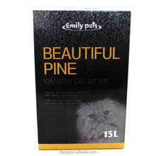 2015 Lovely Cat Products Organic Pine Wood Cat Sand Non Clumping