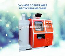 Precio competitivo 80 KG/H tamaño pequeño chatarra de alambre de cobre Granulating máquina