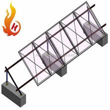 Aluminum Solar Photovoltaic Module Ground Support Bracket