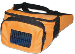 Solar waist bag rechargable bag