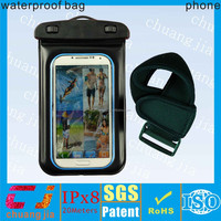 For water sports factory wholesale custom waterproof pouch cover for galaxy note