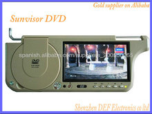 "Tamaño de pantalla 7 "" PUERTO USB PARASOL DVD"