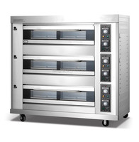gas deck cake bakery oven