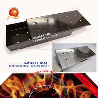 Enamel or Stainless steel Grilling Smoker box