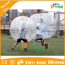 2015 new product bumper bubble football,crazy loopyballs with discount