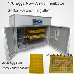 best selling chicken egg incubator WQ-176 egg incubator used egg incubator china in Saudi arabia