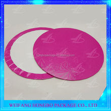weifang whole sale food grade red paper cake boards