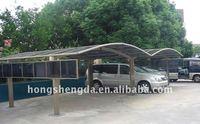 Aluminum structure carport/ car shelte/car shed