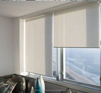 blackout or daylight fabric motorized roller blinds