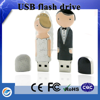 2015 new products wedding gift usb pen drive with jewelry gift boxes