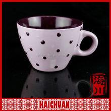 giraffe design kids ceramic coffee mug