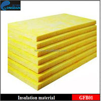 Sound absorbing insulation board glasswool