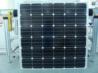 New designed high efficiency flexible 150 watt mono solar panels from China factory directly
